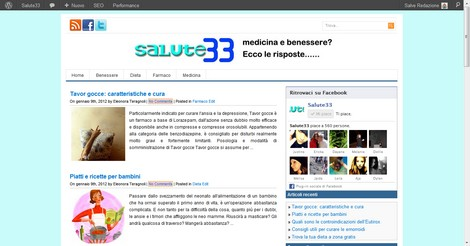 Blog Salute, la novità