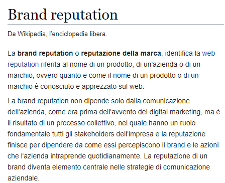 Brand reputation - Wikipedia
