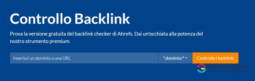 Backlink Checker di Ahrefs_ controlla i Backlink per Qualsiasi Sito Web