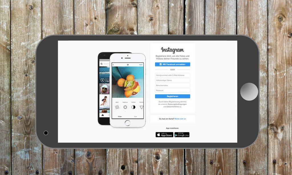 Instagram stories da desktop