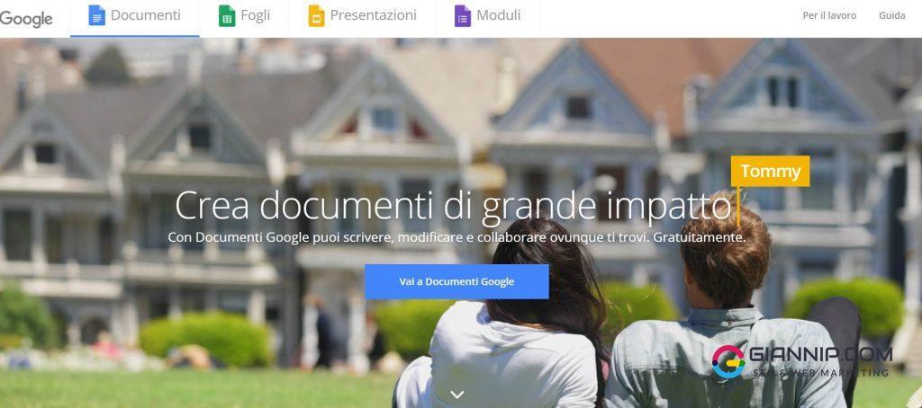 Documenti Google_ crea e modifica documenti online gratuitamente.