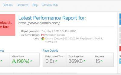 Migliorare le performance di un sito web WordPress: plugin e soluzioni